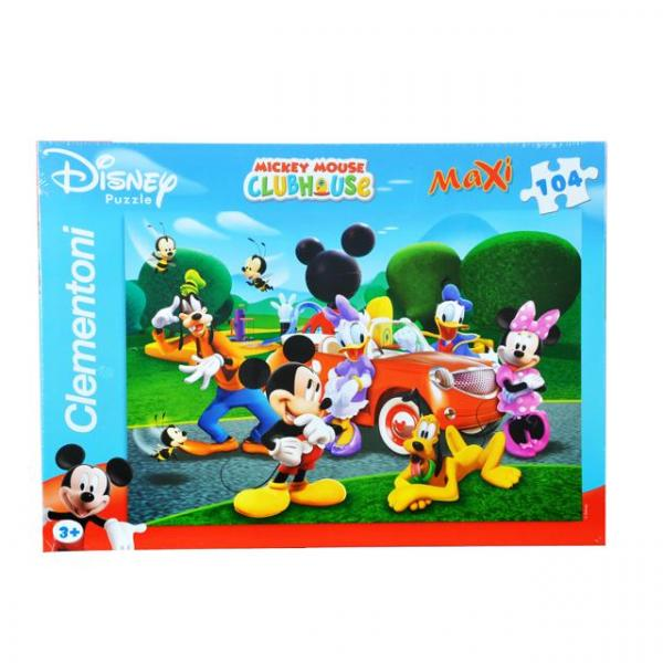 104 Parça Maxi Puzzle : Mickey