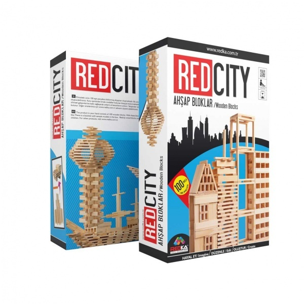Redka Red City Ahşap Bloklar