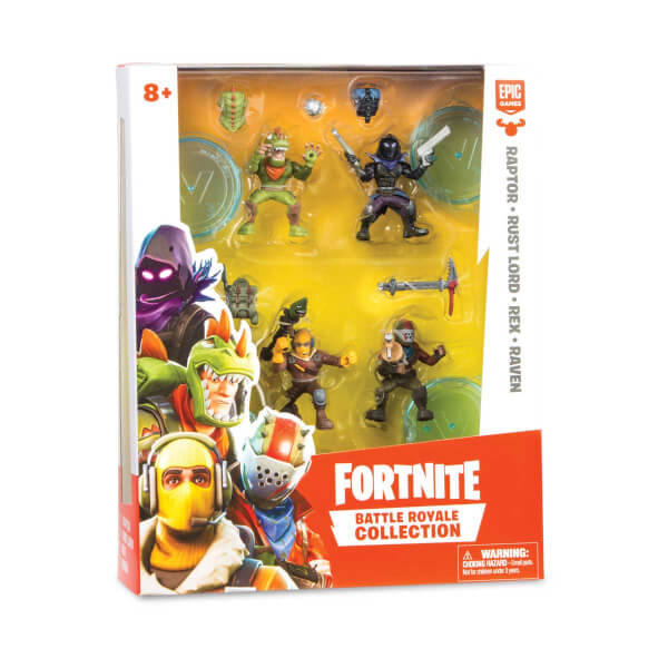 Fortnite Mini 4'lü Figür Seti