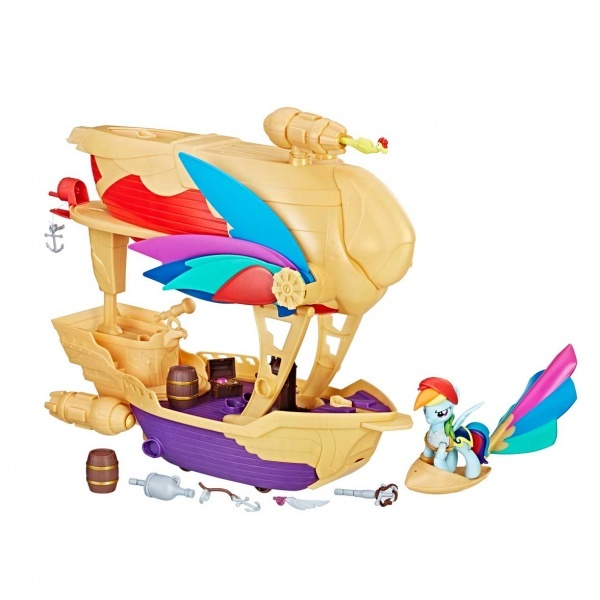 My Little Pony Rainbow Dashin Korsan Gemisi C1059 Toyzz Shop