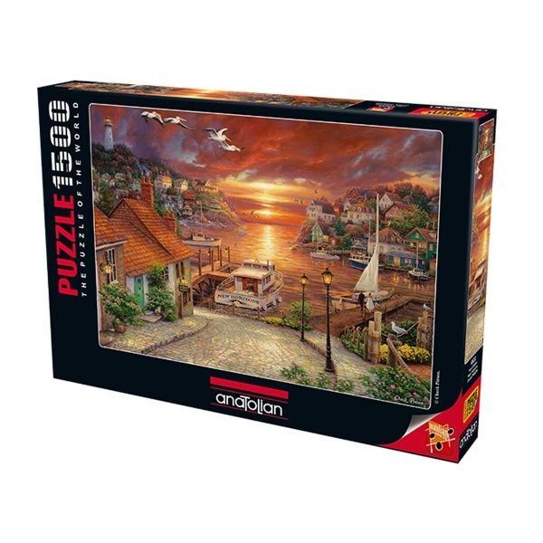 1500 Parça Puzzle : Yeni ufuklar