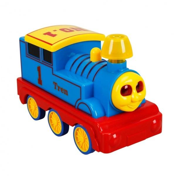 Sesli ve Işıklı Kırılmaz Tren