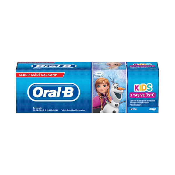 Oral B Florurlu Cocuk Dis Macunu 75 Ml Cars Toyzz Shop