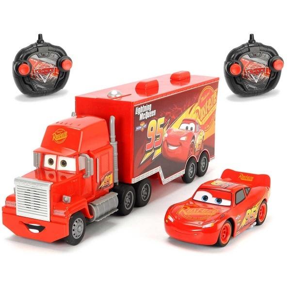 Cars 3 1:24 Uzaktan Kumandalı Lightning McQueen ve Mack Truck