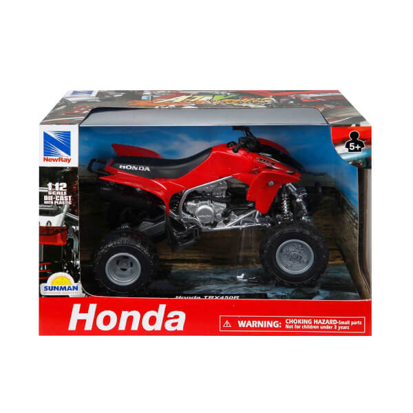 1:12 Honda TRX450R 2009 Atv Model Motor