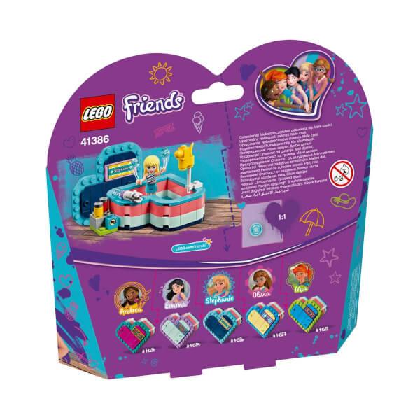 LEGO Friends Stephanie'nin Yaz Kalp Kutusu 41386