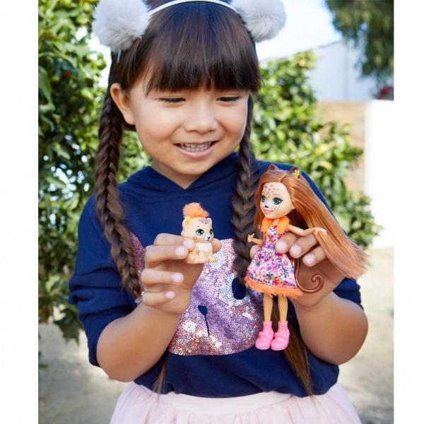 Enchantimals Popüler Karakter Bebekler FNH22