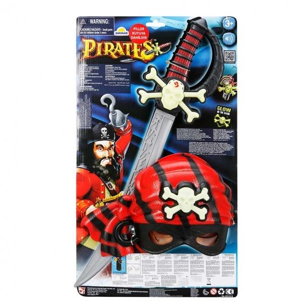 Maske ve Kılıç Korsan Oyun Seti