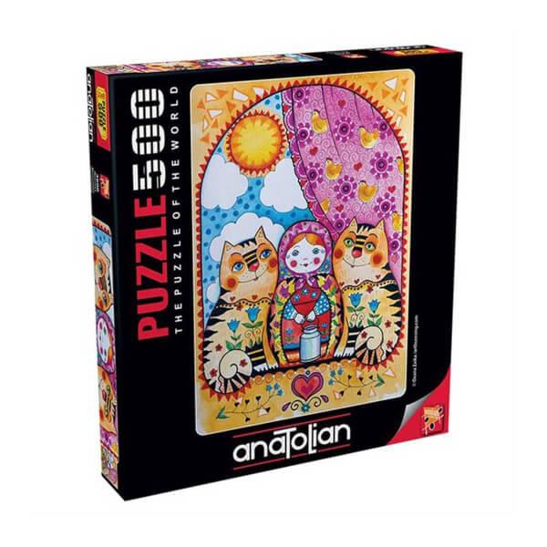 500 Parça Puzzle : Matruşka