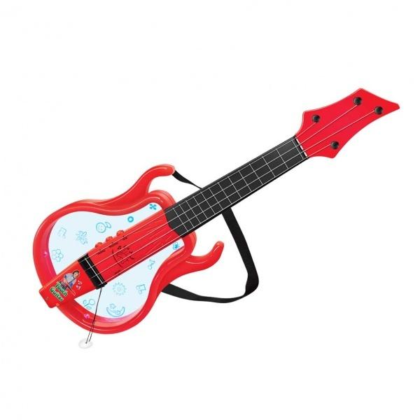 Işıklı ve Müzikli Gerçek Telli Gitar