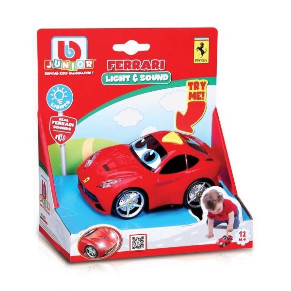 Bb Junior Sesli ve Işıklı Ferrari