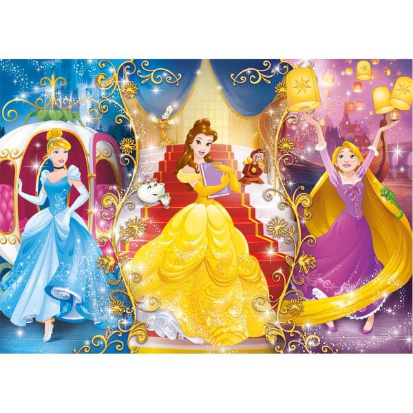 4 in 1 Puzzle : Disney Princess