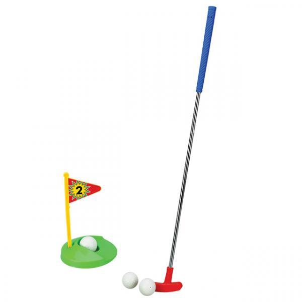 Metal Sopalı Golf Seti