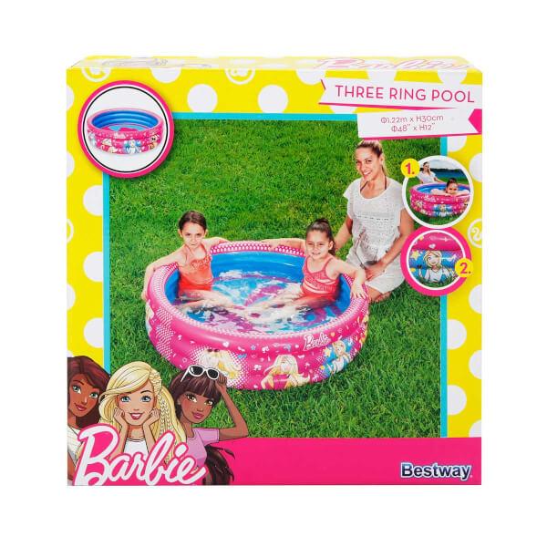 Barbie 3 Halka Yuvarlak Havuz