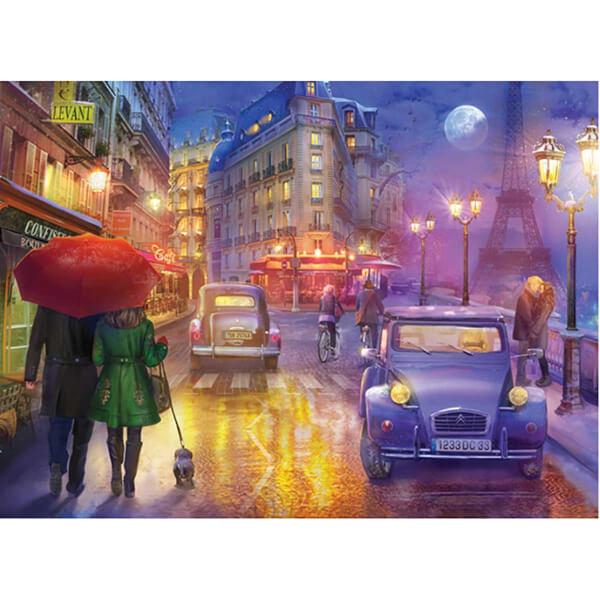 1000 Parça Puzzle : Paris'de Bir Gece