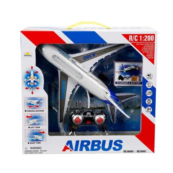 1:200 Uzaktan Kumandalı Airbus Sesli ve Işıklı Uçak