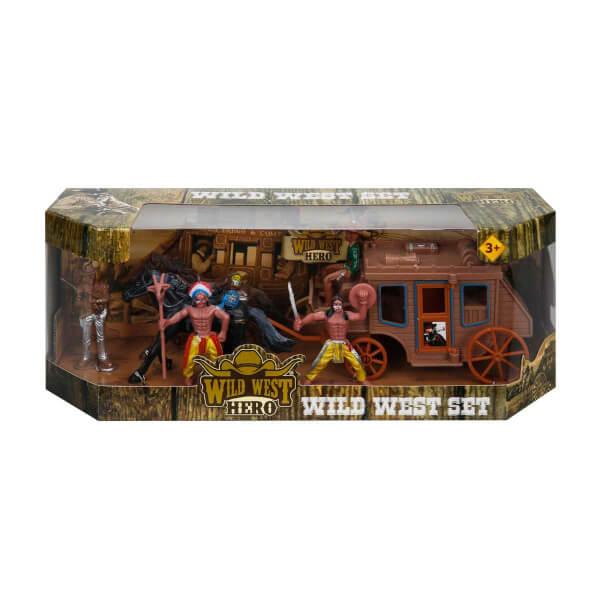 At Arabalı Kovboy Oyun Seti
