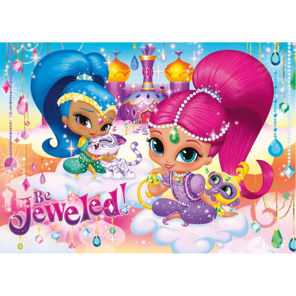 100 Parça Maxi Puzzle : Shimmer and Shine