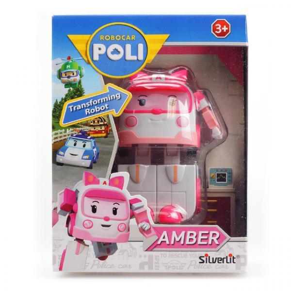 Robocar Poli Dönüşen Robot Figürler