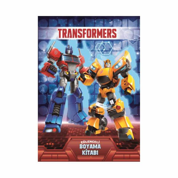 Transformers Eglenceli Boyama Kitabi Toyzz Shop