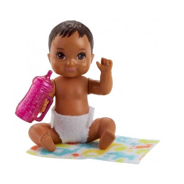 Barbie Bebek Bakıcılığı Oyun Seti Fhy76 Esmer Toyzz Shop