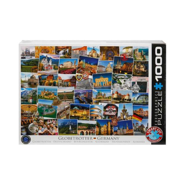 1000 Parça Puzzle : Globetrotter Germany