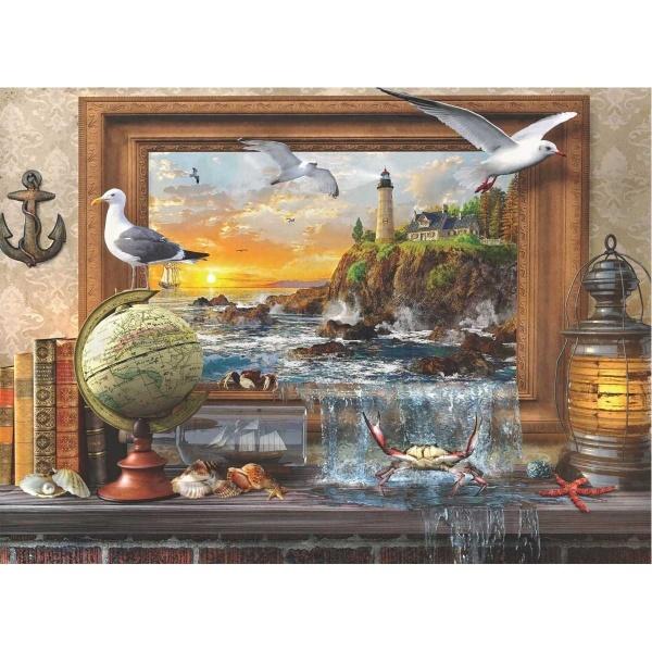 1000 Parça Puzzle : Denize Ait