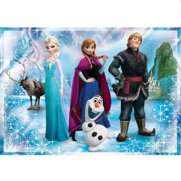 104 Parça Puzzle : Frozen - App