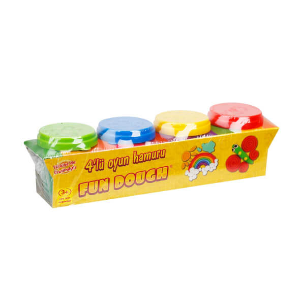 Fun Dough 4 Renk Oyun Hamuru Seti