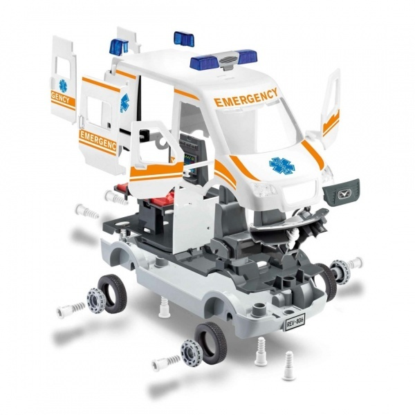 Revell 1:20 Çocuk Kit Ambulans