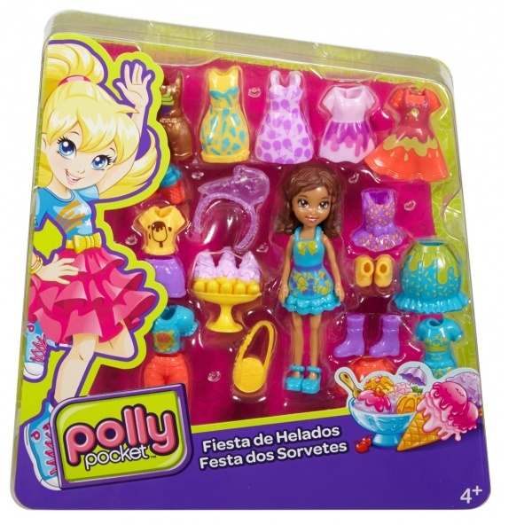 Polly Pocket Moda Seti