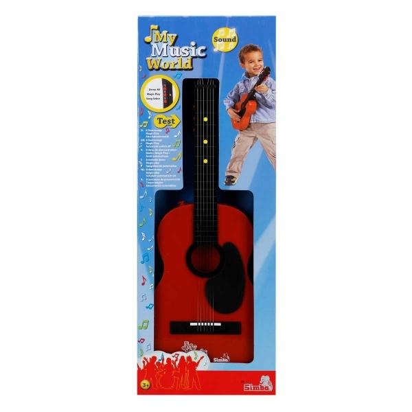 8 Demo Fonksiyonlu Gitar