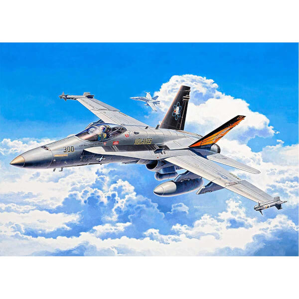 Revell 1:72 F/A-18C Hornet Model Set Uçak 64894