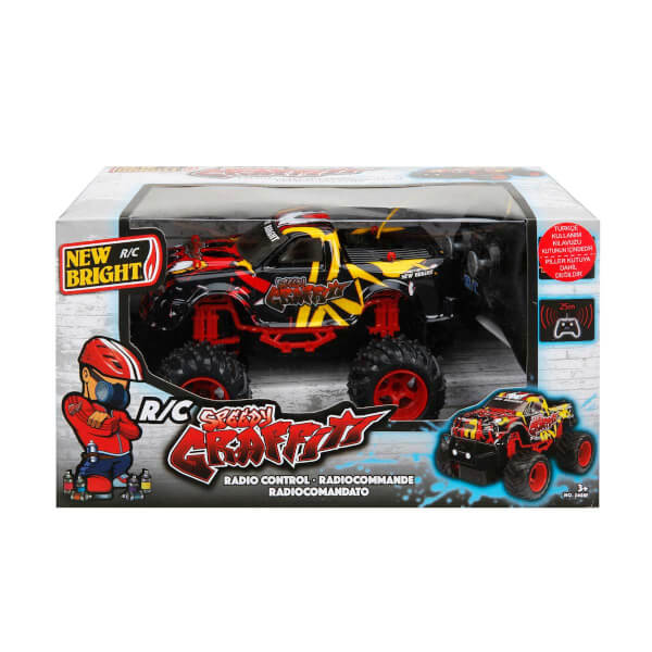 1:24 Uzaktan Kumandalı Speedy Graffiti Pick Up Trucks