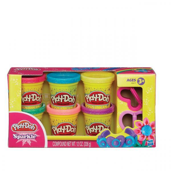 Play Doh Işıltılı Hamur
