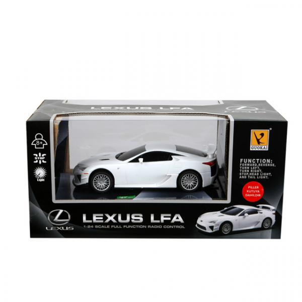 1:24 Uzaktan Kumandalı Işıklı Lexus LFA