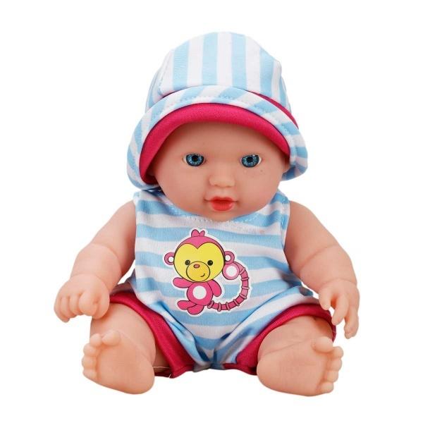 Boubou Tulumlu Sesli Bebek 20 cm.