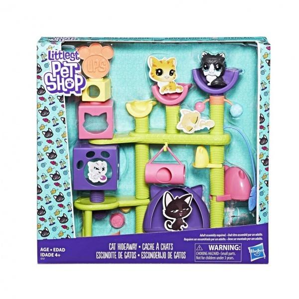 Littlest Pet Shop Kedi Miniş Eğlence Parkı E2127