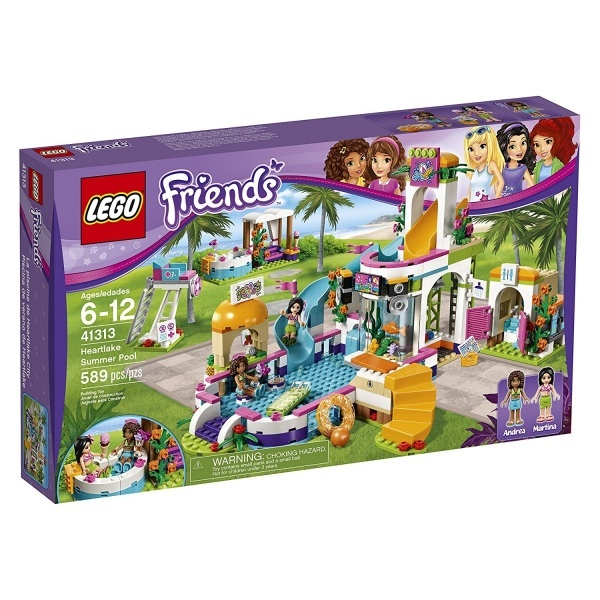 LEGO Friends Heartlake Yaz Havuzu 41313