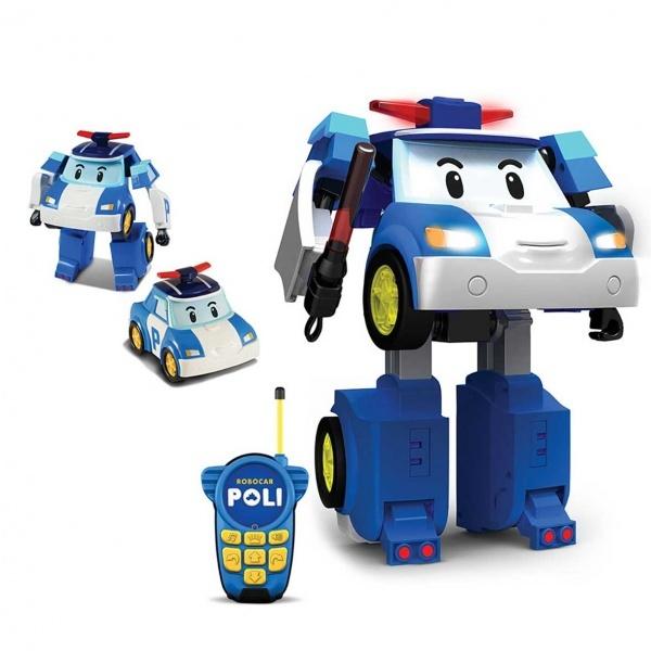 Uzaktan Kumandalı Robocar Poli Dönüşen Robot