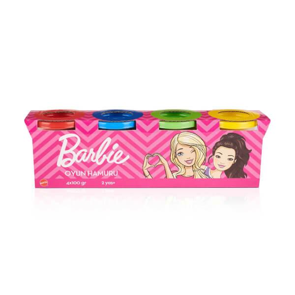 Barbie 4'lü Oyun Hamuru 400 gr.