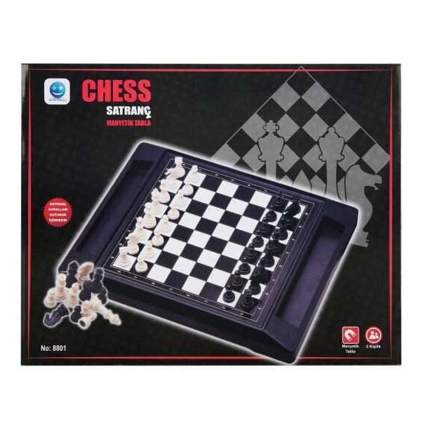 Mıknatıslı Büyük Satranç Oyun Seti