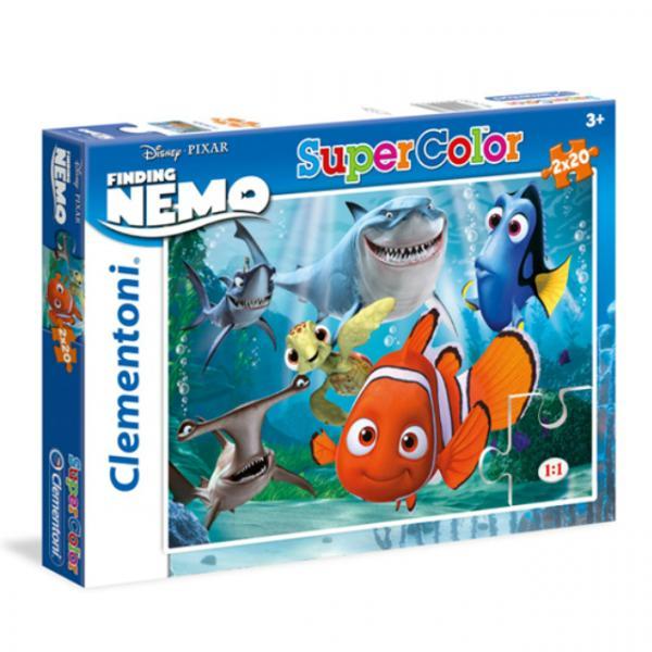 2 x 20 Parça Puzzle : Nemo