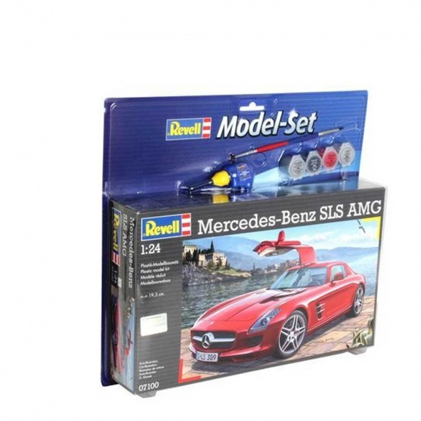 Revell 1:24 Mercedes SLS AMG Model Set Araba