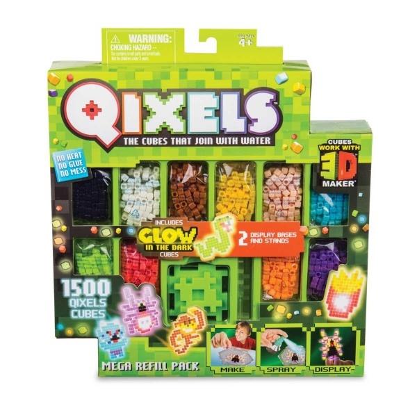 Qixels 3D S4 Mega Yedek Paket