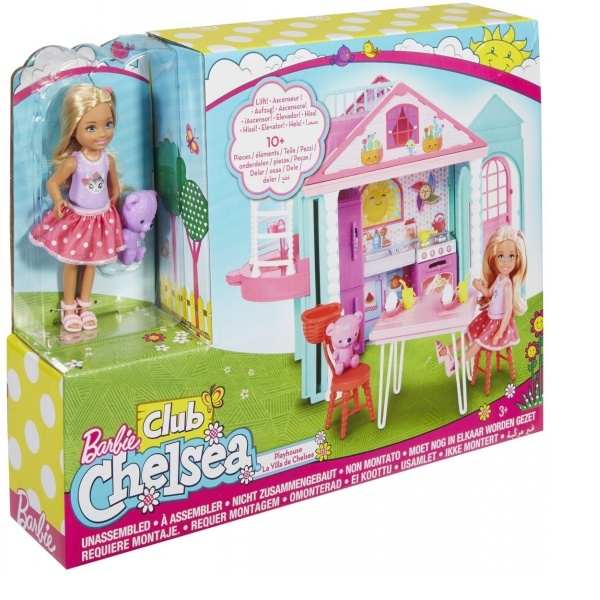 Chelsea'nin İki Katlı Evi DWJ50