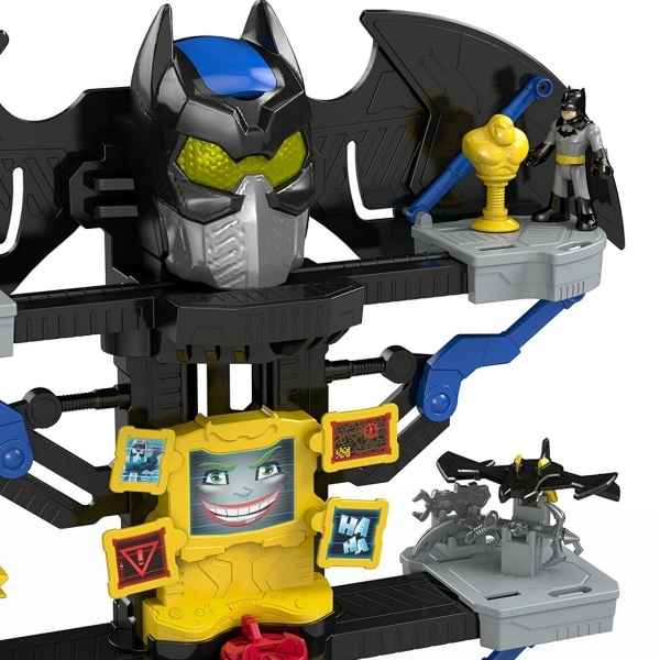 Imaginext DC Super Friends Transforming Batcave Oyun Seti