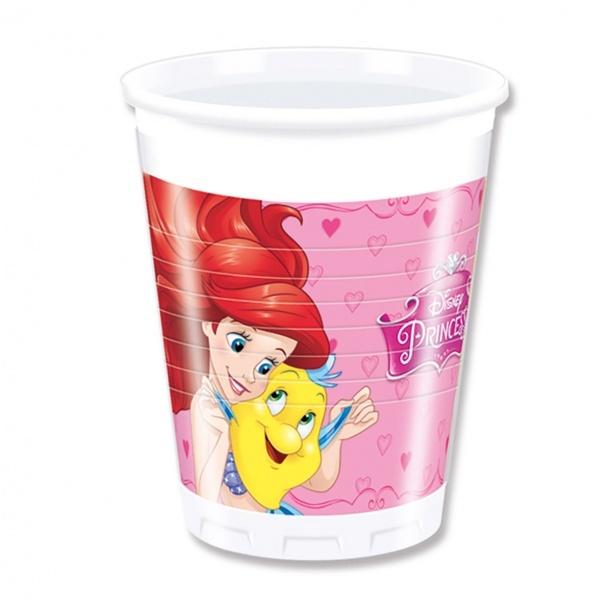 Disney Princess 8'li Plastik Bardak