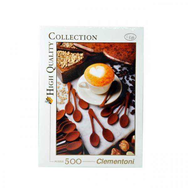 500 Parça Puzzle : I Love Cappuccino