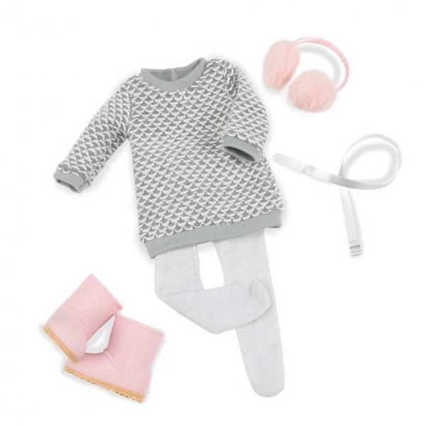 Our Generation Sweater Dress Kıyafet Seti